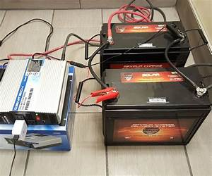 Diy Size  U0026 Build A Battery Power Backup Generator W   12v