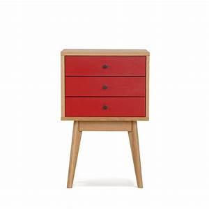 Table De Chevet Rouge : meuble de rangement rouge maison design ~ Preciouscoupons.com Idées de Décoration