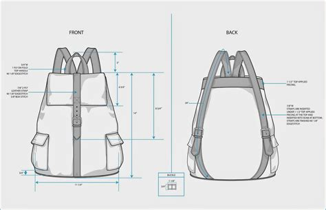 backpack template the spinsterhood diaries sle fashion project backpack tech pack