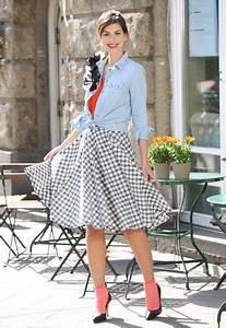 50 Jahre Look : 25 best ideas about 50er jahre kleidung on pinterest 50er kleid 50er petticoat and 50er ~ Sanjose-hotels-ca.com Haus und Dekorationen