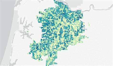 Saint Louis North County Missouri Zip Code Map