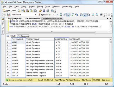 sql join 2 tables slacker dba sql joins explained inner joins and outer