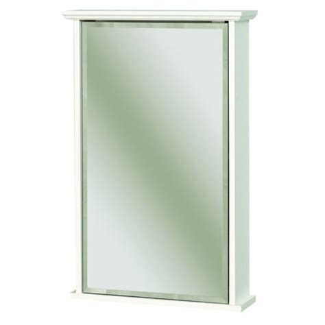 menards white medicine cabinet zenith 16 quot white swing door medicine cabinet with crown