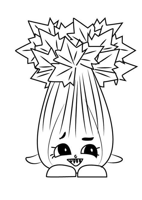 coloring pages coloring pages celery printable  kids