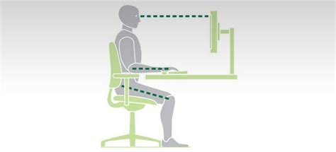 ergonomic workstation guidelines