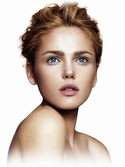 Face Transparent Clipart Makeup Woman Highlighting Cosmetics