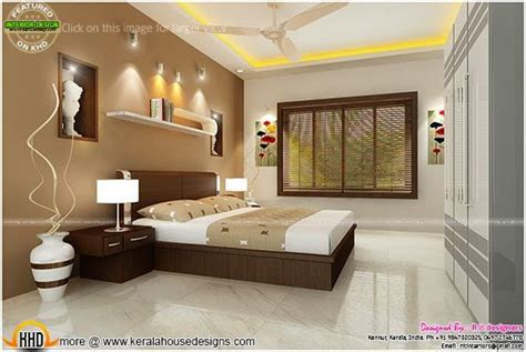 bedroom interior design  cost kerala home design