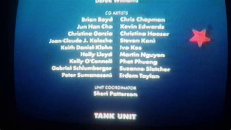 Finding Nemo 2003 Vhs End Credits