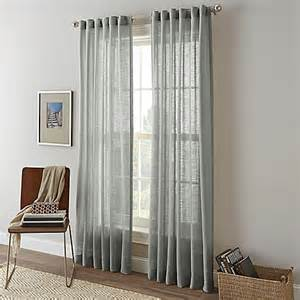 shimmer sheer rod pocket window curtain panel bed bath beyond
