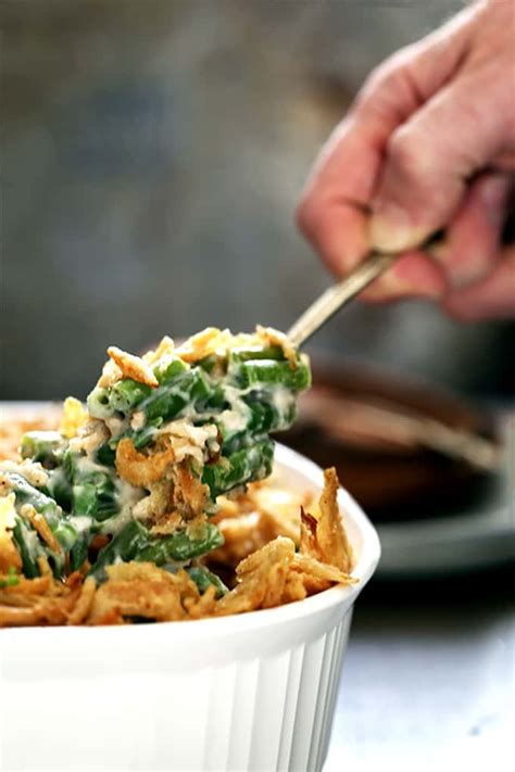 onion green bean casserole melanie