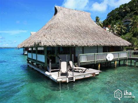 Bora-Bora rentals for your vacations with IHA direct
