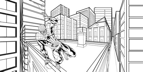 Two Point Perspective City By Hanabi94 On Deviantart