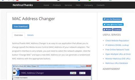 Amac Address Change by A Mac Mac Address Changer