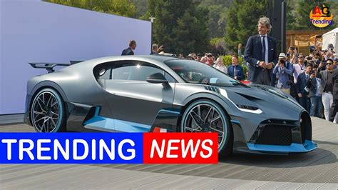 New Bugatti Supercar by Bugatti One Ups Itself With Its New Divo Supercar