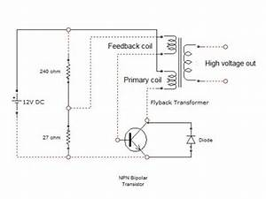 How To Convert 12volt Dc Into Thousands Of Volts Using A