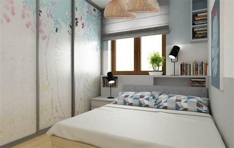 Längliches Schlafzimmer Einrichten