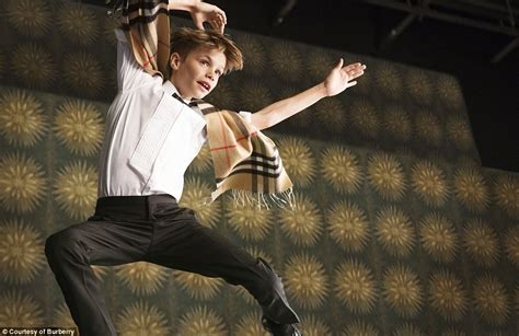 romeo beckham joins cbell in magical burberry festive advert daily mail