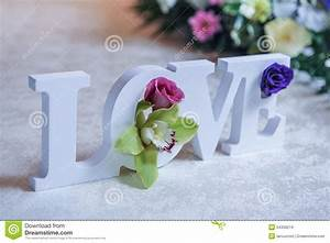wedding decor love letters and flowers on table fresh With love letters with flowers