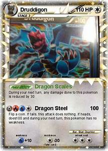 Pokémon Druddigon 83 83 - Dragon Scales - My Pokemon Card