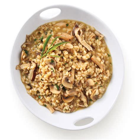 orge recettes cuisine risotto d 39 orge aux chignons recettes cuisine et