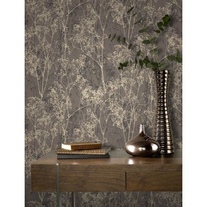 Rasch Deco Chic Wallpaper   Chocolate at Homebase    Be