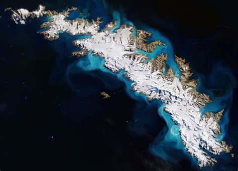 Earth From Space South Georgia Island Spaceref