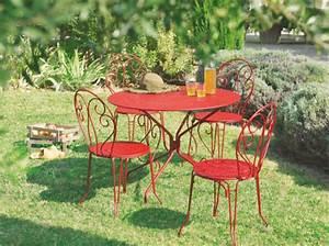 Chaise De Jardin En Fer : chaise de jardin fer chaise de jardin pliante pas cher maison email ~ Teatrodelosmanantiales.com Idées de Décoration