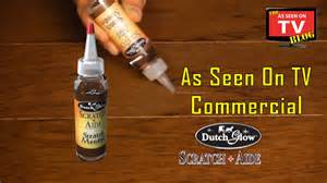 glow scratch aide as seen on tv commercial buy scratch aide as seen on tv wood scratch