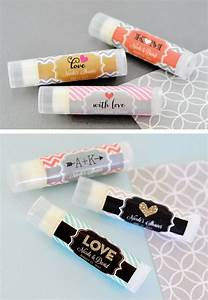 wedding lip balm favors custom lip balm labels unique With custom lip gloss labels