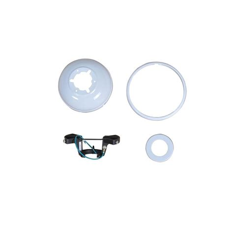 carrington 60 in white ceiling fan replacement trimount