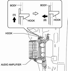 Mazda Cx-5 Service  U0026 Repair Manual - Audio Amplifier Removal  Installation