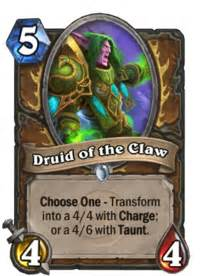 druid hearthstone heroes of warcraft wiki