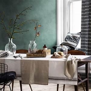 Grau Grün Wandfarbe : farbe grau gr n braun wohnen und einrichten mit naturfarben living at home ~ Frokenaadalensverden.com Haus und Dekorationen