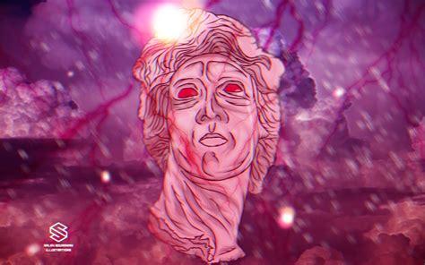 aesthetic wallpaper artistic vaporwave aesthetic pink