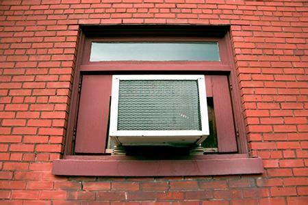 install window air conditioner crank window doityourselfcom