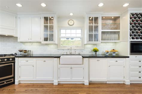 cabinets sink stove in corner transitional kitchen m wright design