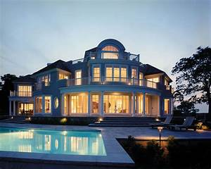 Beautiful Modern Houses With Pools. Exterior. Gombrel Home ...