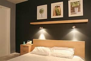 Applique Murale Tete De Lit : etag re t te de lit et appliques que faire ~ Teatrodelosmanantiales.com Idées de Décoration