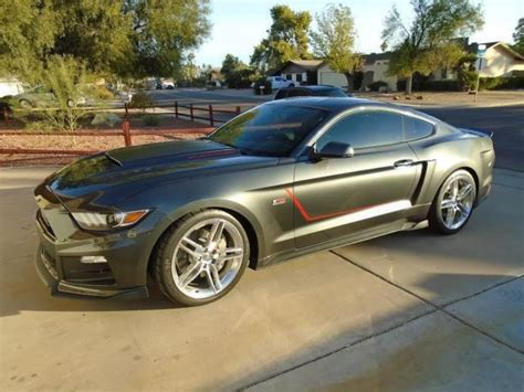 roush stage  mustang luxury vehicle  sale