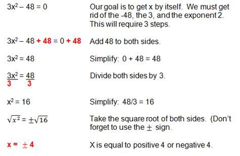 solve quadratic equations