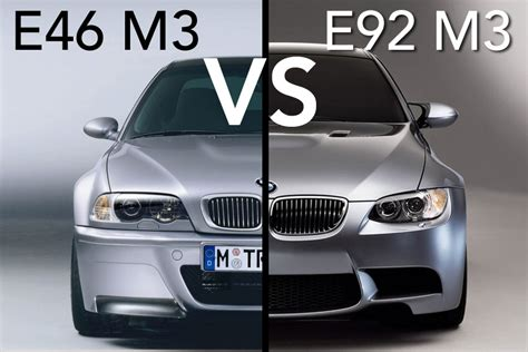 Bmw E46 M3 Vs Bmw E92 M3  Which One To Buy Today?