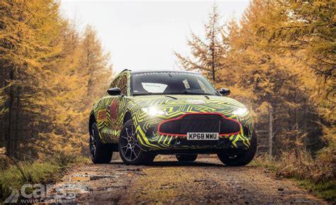 Aston Martin Dbx Suv Testing Begins