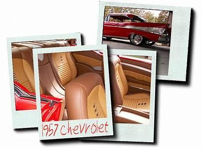 Chevy 1955 Leather Seats Bucket Interiors Chevrolet