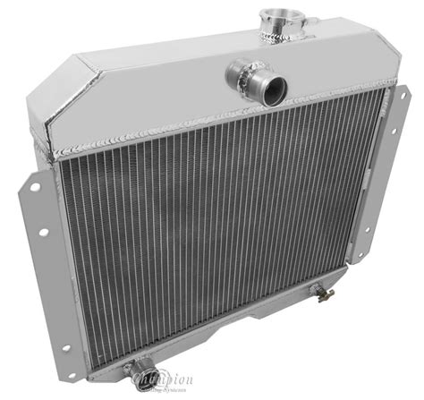Radiator Rr by 1951 1952 1953 Jeep Willys Radiator Chion Aluminum 3