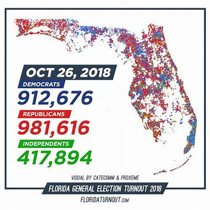 Voting Florida Early Republicans Lead County Charlotte