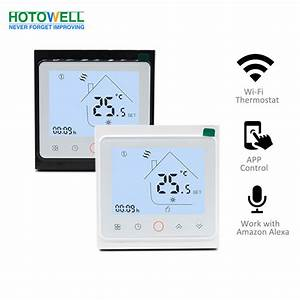 China New Wifi Connect App Control Smart Thermostat For