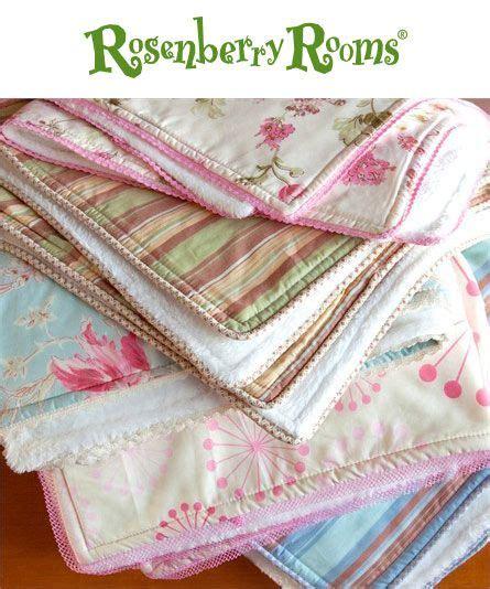 shabby fabrics self binding baby blanket pinterest the world s catalog of ideas