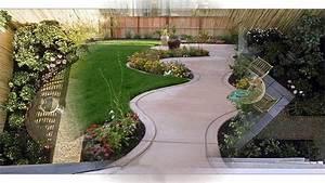 Diseño de jardín pequeño patio trasero YouTube