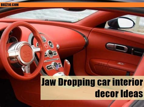 Cer Interior Decorating Ideas by 50 Jaw Dropping Car Interior Decor Ideas