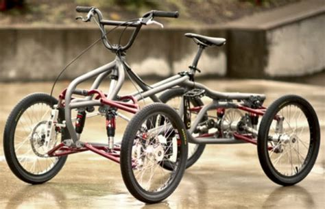 The Contes Engineering Athos Quad Bmx Bike